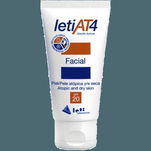 LetiAt4 Crema protección facial spf-20 pieles atópicas