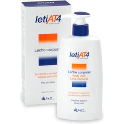 LetiAt4 Leche corporal emoliente pieles atópicas