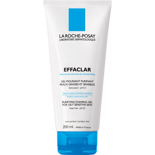 La Roche Posay Effaclar duo gel mousse purificante pieles sensibles