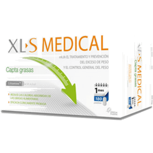 Xls Medical Xls medical captagrasas 180 comprimidos