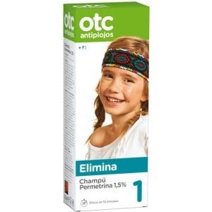 Otc antipiojos Tratamiento antipiojos champu 2x1