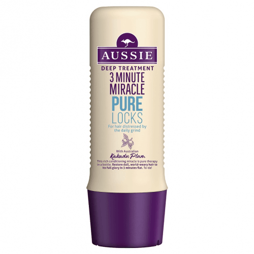 Aussie Mascarilla 3 Minutos Miracle Pure Locks