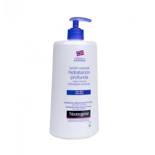 Neutrogena Loción corporal hidratación profunda piel seca