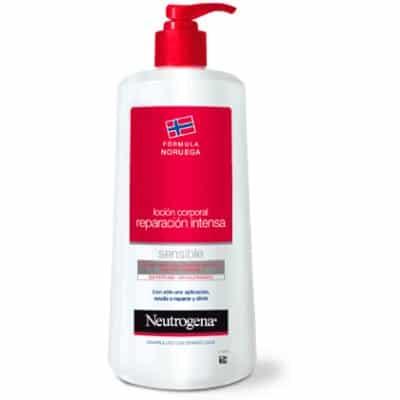 Neutrogena Loción corporal reparación intensa piel sensible