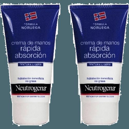 Neutrogena Neutrogena crema manos rapida absorcion duplo