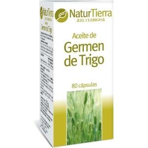 Naturtierra Natur tierra aceite de germen trigo capsulas