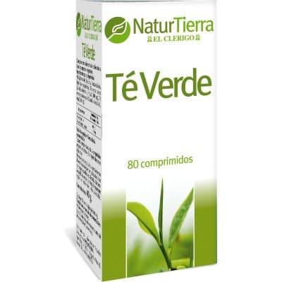 Naturtierra Comprimidos té verde 80 unidades