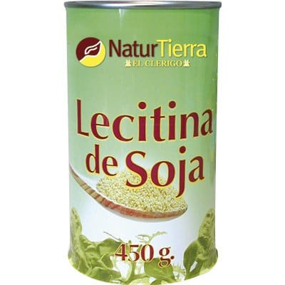 naturtierra leticina de soja 450 gr.