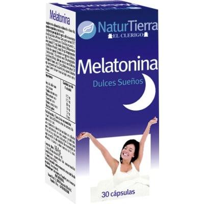 Naturtierra Complemento alimenticio melatonina dulces sueños