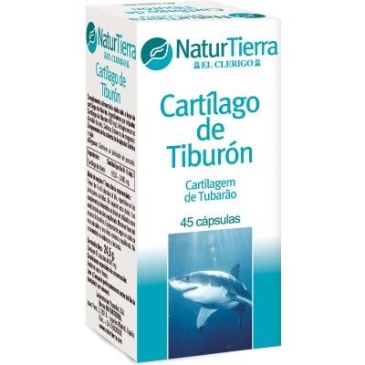 Naturtierra Complemento alimenticio cartílago de tiburón