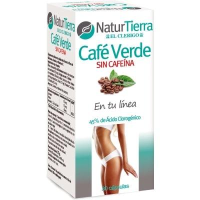 naturtierra complemento alimenticio café verde sin cafeína