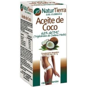Naturtierra Natur tierra aceite de coco capsulas
