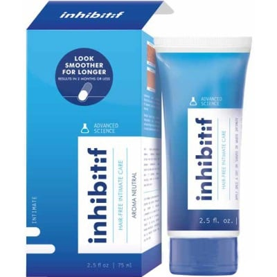 Inhibitif Avanced hair free intimate care 75 ml.