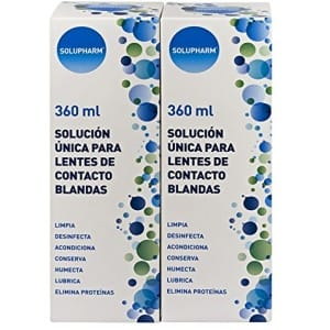 Solupharm Solupharm pack solución única lentes contacto