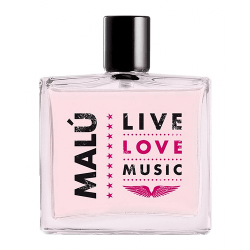 Malu Eau de Toilette Live Love Music