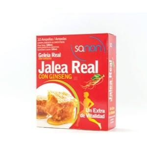 Sanon Sanon jalea real + ginseng 10 ampollas
