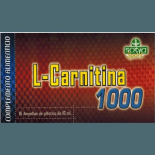 Sotya Sotya l-carnitina 1000 ampollas