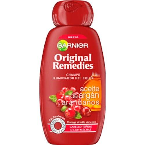 Original Remedies Argán Y Arandanos Champú Iluminador Del Color