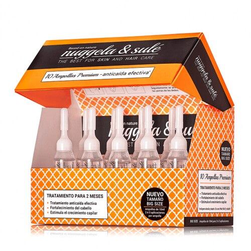 Nuggela & Sulé Pack Anti-Caída 10 Ampollas Premium