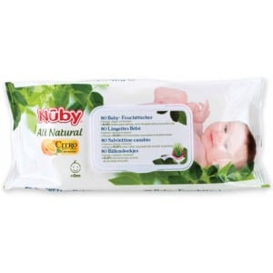 Nuby Citroganix toallitas bebe
