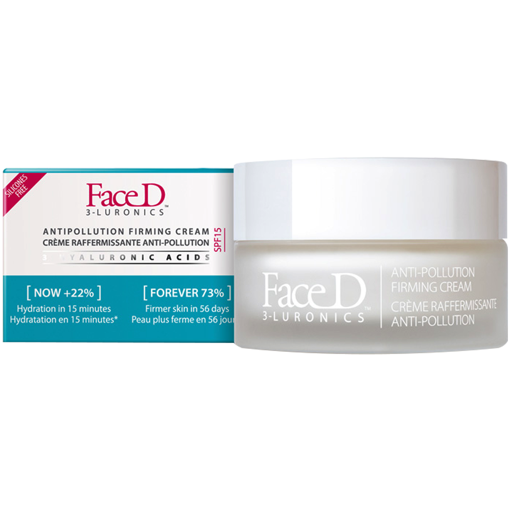 Face D Faced anti-polución crema reafirmante anti-edad
