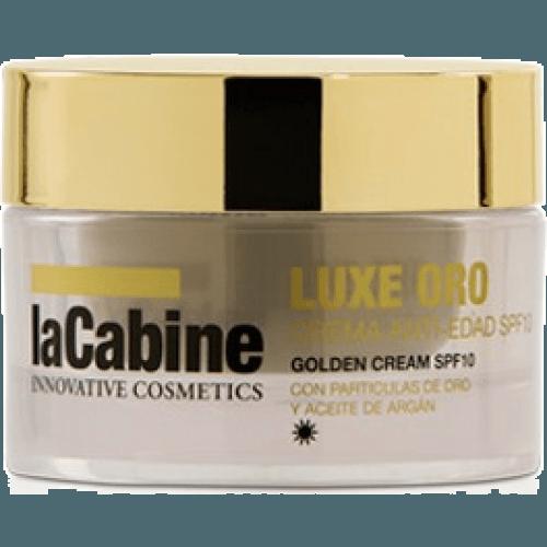 La Cabine Luxe oro crema anti-edad spf10 día