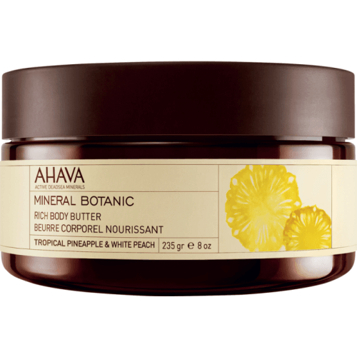 Ahava Mineral Botanic Body Butter Pineapple & Peach
