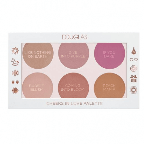 Douglas Make-up Paleta de Coloretes Cheeks In Love