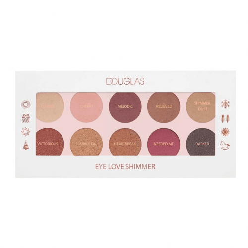 Douglas Make-up Paleta de Sombras Eye Love Shimmer