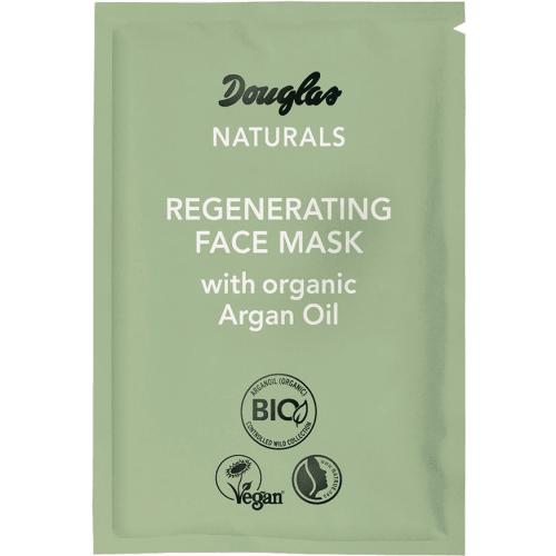 Douglas Naturals Regenerating Face Mask con Aceite de Argán Orgánico
