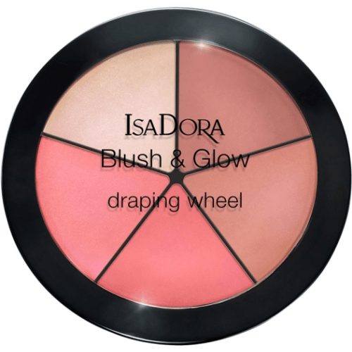 Isadora Blush and Glow draping wheel