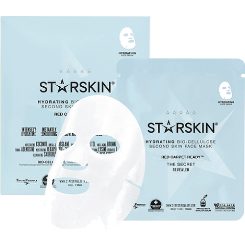 Starskin Hydrating Bio Cellulose Second Skin Face Mask