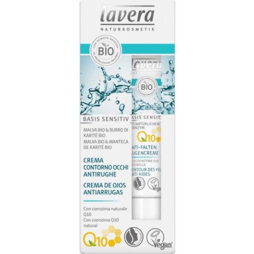 Lavera basis sensitiv Crema de ojos antiarrugas Q10
