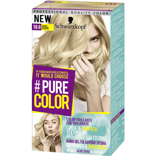 Pure Color Schwarzkopf Tinte Capilar 10.0 Angel Blonde