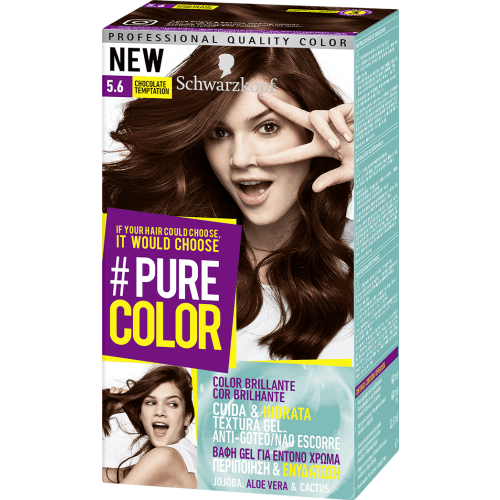 Pure Color Schwarzkopf Tinte Capilar 5.6 Chocolate Temptation