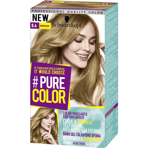 Pure Color Schwarzkopf Tinte Pure Color 8 4 Sunkissed
