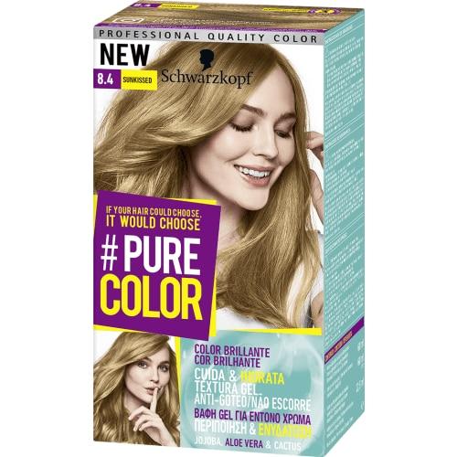 Pure Color Schwarzkopf Tinte Capilar 8.4 Sunkissed