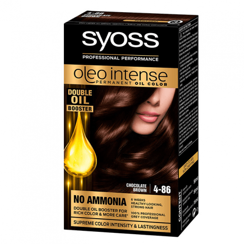 Syoss Tinte Oleo Intense Permanent 4-86 Castaño Helado