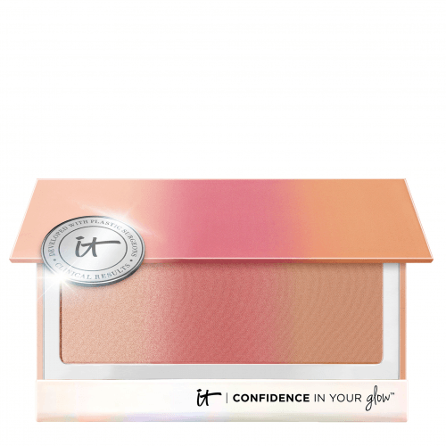 IT Cosmetics IT COSMETICS Confidence In Your Glow™ Paleta Colorete,Bronceador E Iluminador