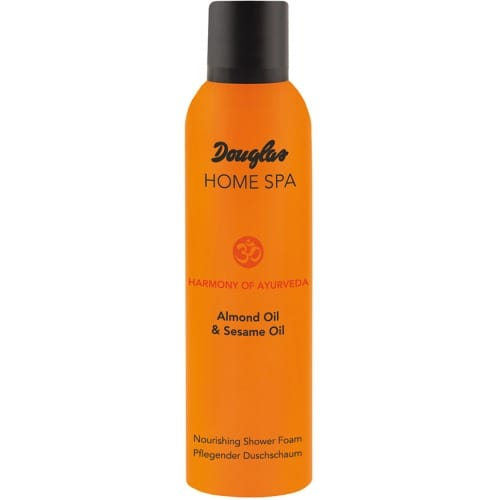 douglas home spa nourishing shower foam almond oil sesame oil