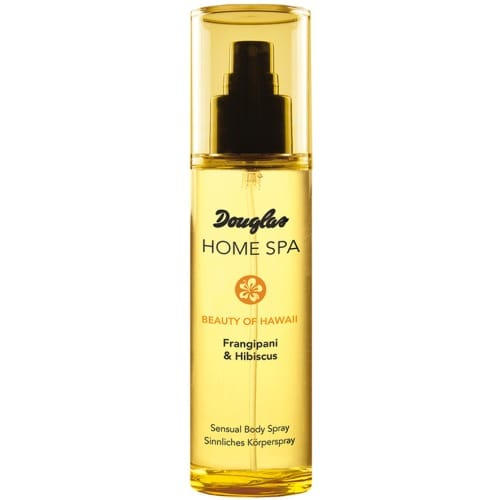 douglas home spa sensual body spray frangipani hibiscus