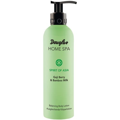 douglas home spa balancing body lotion goji berry bamboo milk