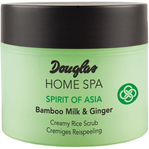 Douglas Home Spa Creamy Rice Scrub Bamboo Milk Ginger