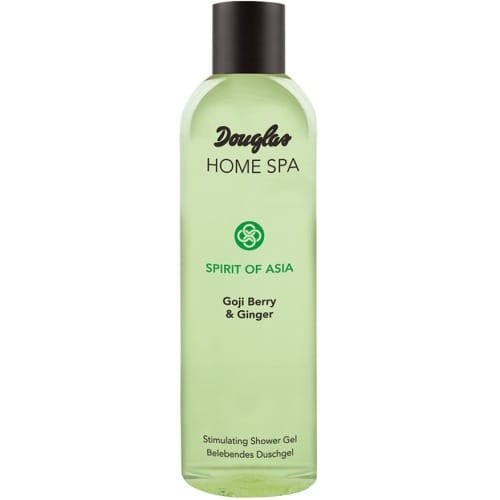 douglas home spa stimulating shower gel goji berry ginger