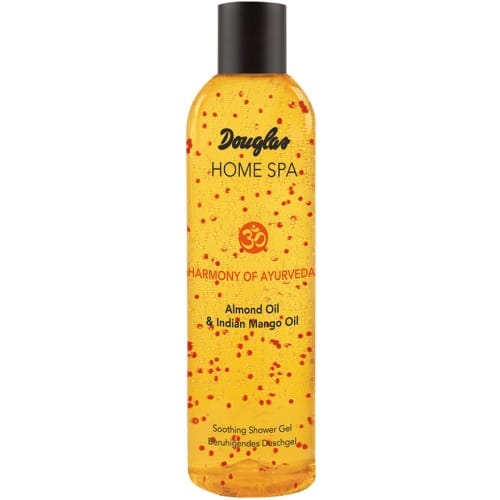 douglas home spa shooting shower gel almond oil indian mango oil