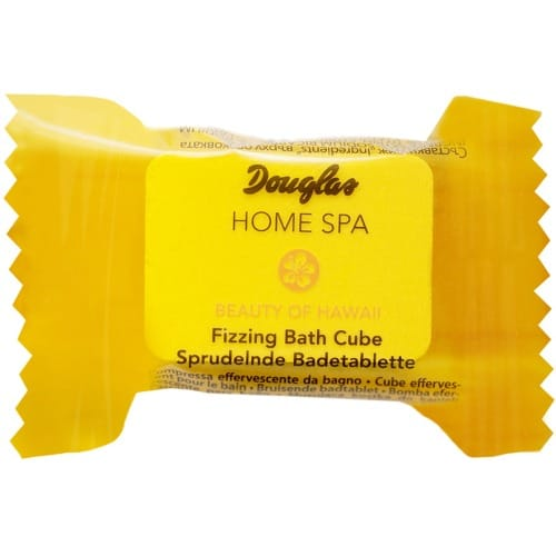 douglas home spa fizzing bath cube beauty of hawaii