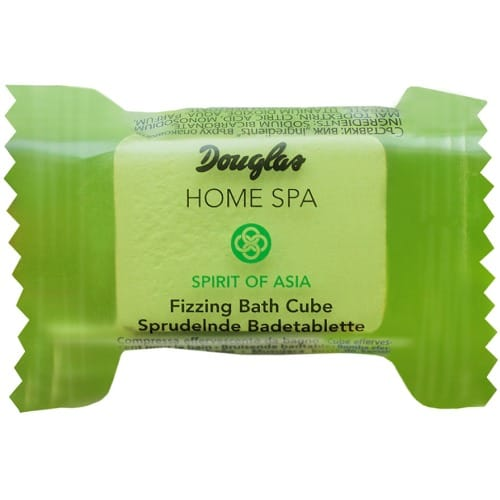 douglas home spa fizzing bath cube goji berry bamboo  milk