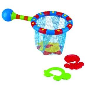 Nuby Red baño + 4 juguetes
