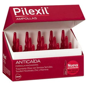 Lacer Pilexil tratamiento anti-caída ampollas