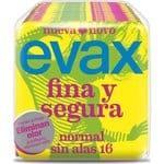 Evax Compresa Fina y segura normal 16 unidades